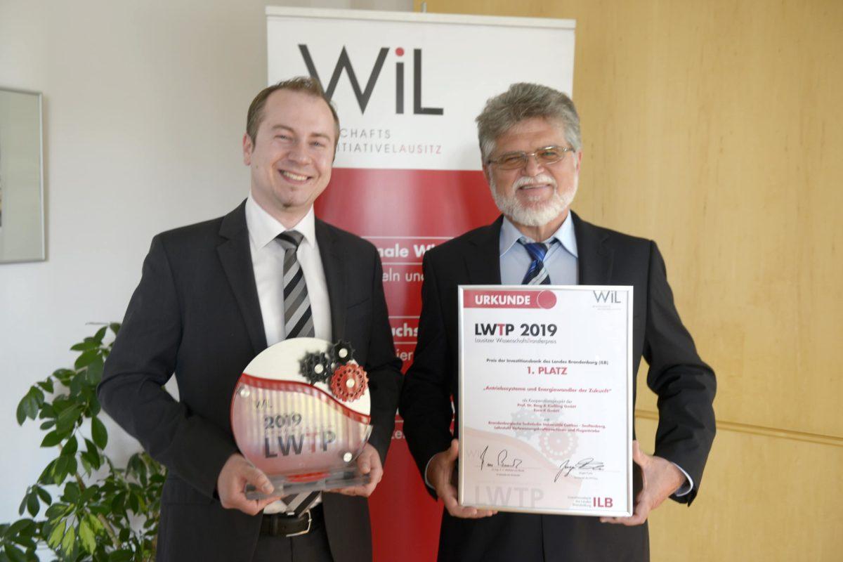 WissenschaftsTransferpreis 2019 - Kleine Energiewunder made in Cottbus